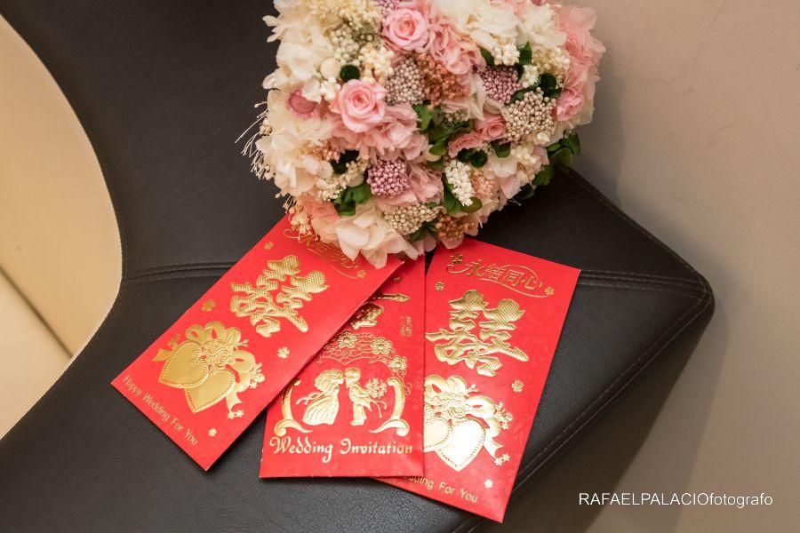 sobre regalo boda china