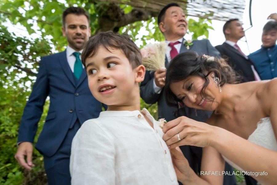 El paje de la boda